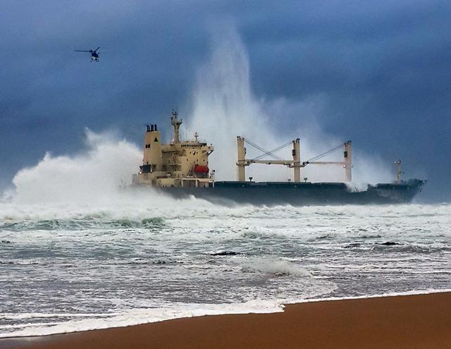 Заседна бълкер край бреговете на Южна Африка 1