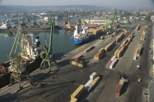 Пристанище Варна - Изток, снимка: SkyNomad