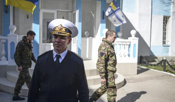 контраадмирал Сергей Гайдук, снимка: РИА Новости