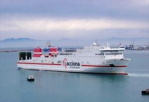 """Ро-ро фериботът MURILLO, ще носи името """"Дружба"""" и ще плава под флага на Република България."""