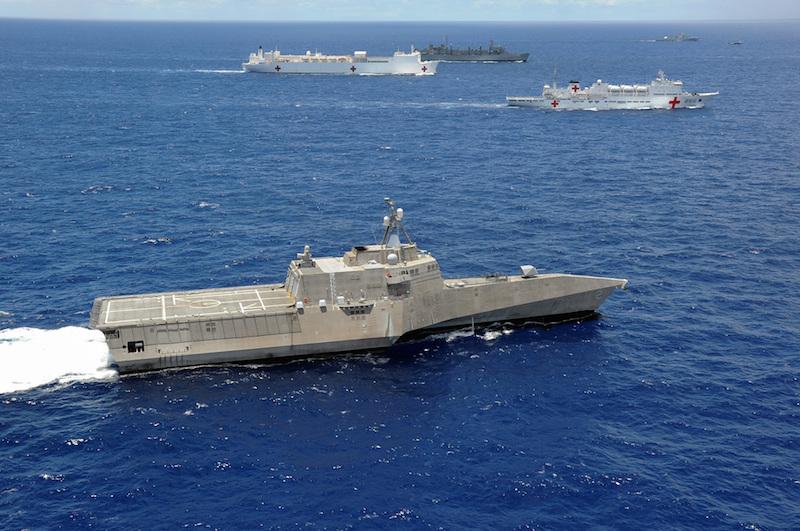 Специализираният американски съд за борба в крайбрежни води Independence (LCS 2)