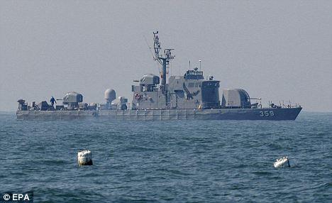 Обстрелваха се кораби на двете Кореи