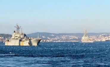 Руско-американска среща в Босфора (снимка)
