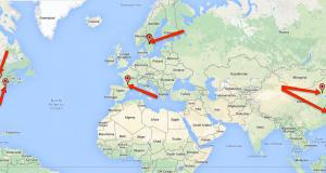 Петте най-дълги корабоплавателни канали (интерактивна карта)