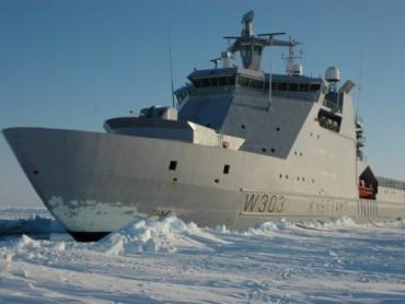 Канада строи пет патрулни кораба за Арктика