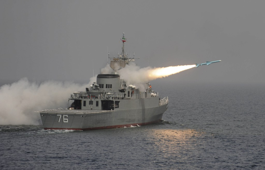 Mideast Iran Missile
