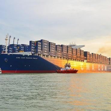 CMA CGM поръча три контейнеровоза с капацитет 20,600 TEU