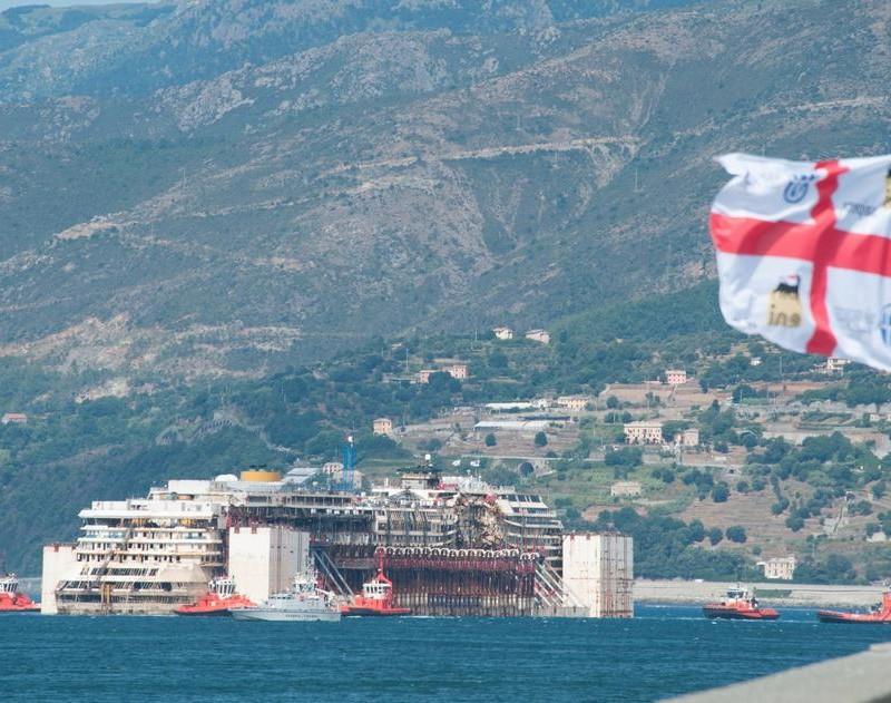 Последно плаване за Costa Concordia