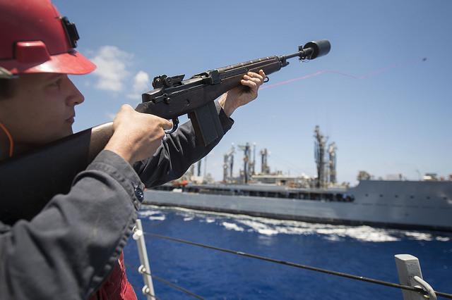 САЩ и Румъния водят съвместни учения в Черно море