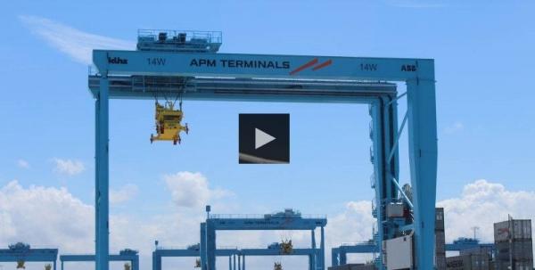 Maersk строи нов контейнерен терминал в черноморското пристанище Поти