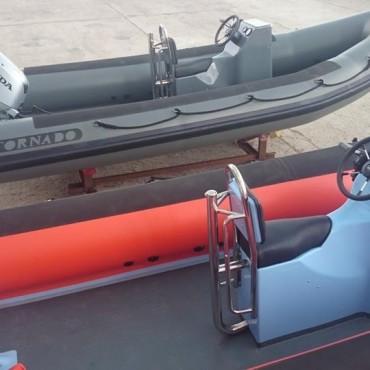 Нови треньорски лодки за Българска федерация по ветроходство