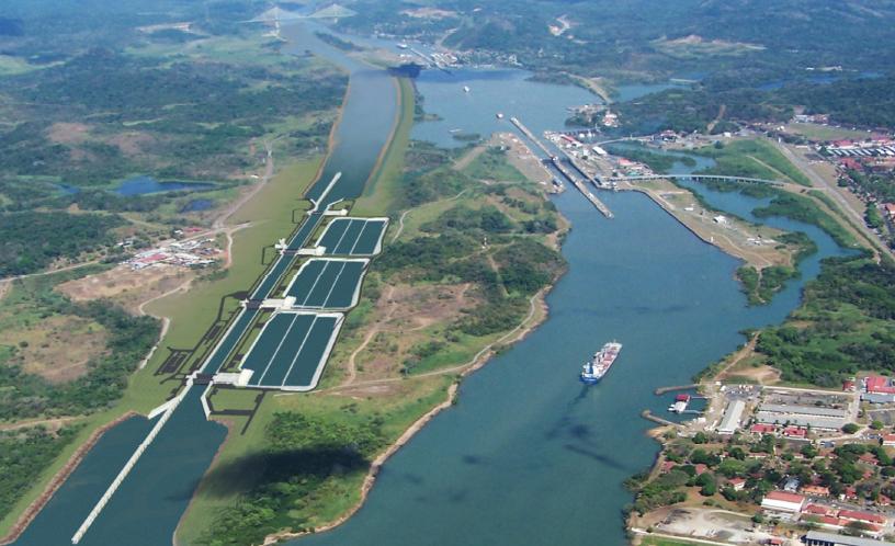 Резултат с изображение за Панамския канал.