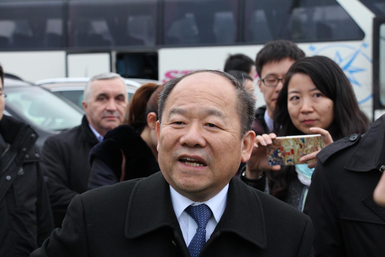Нин Джидзъ, зам.-председател на Националната комисия за развитие и реформи на Китай