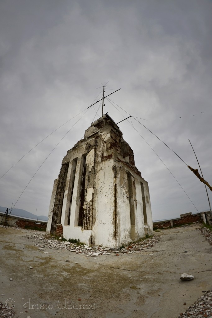 Морското училище в Созопол. Снимката е предоставена с писменото разрешение на автора. © Христо Узунов, urbex.bg