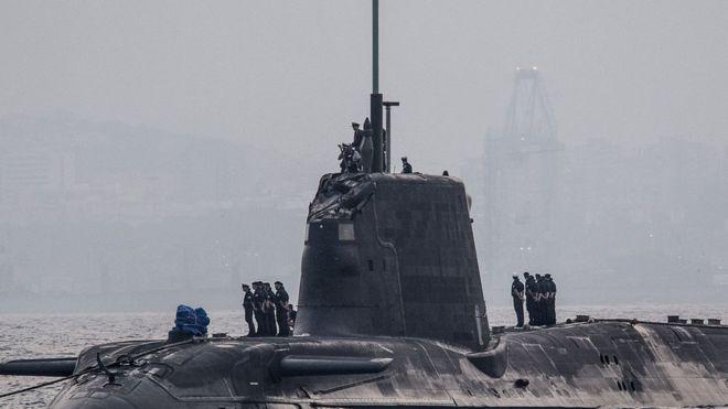Командир на ядрена подводница призна вината си за сблъсък с танкер