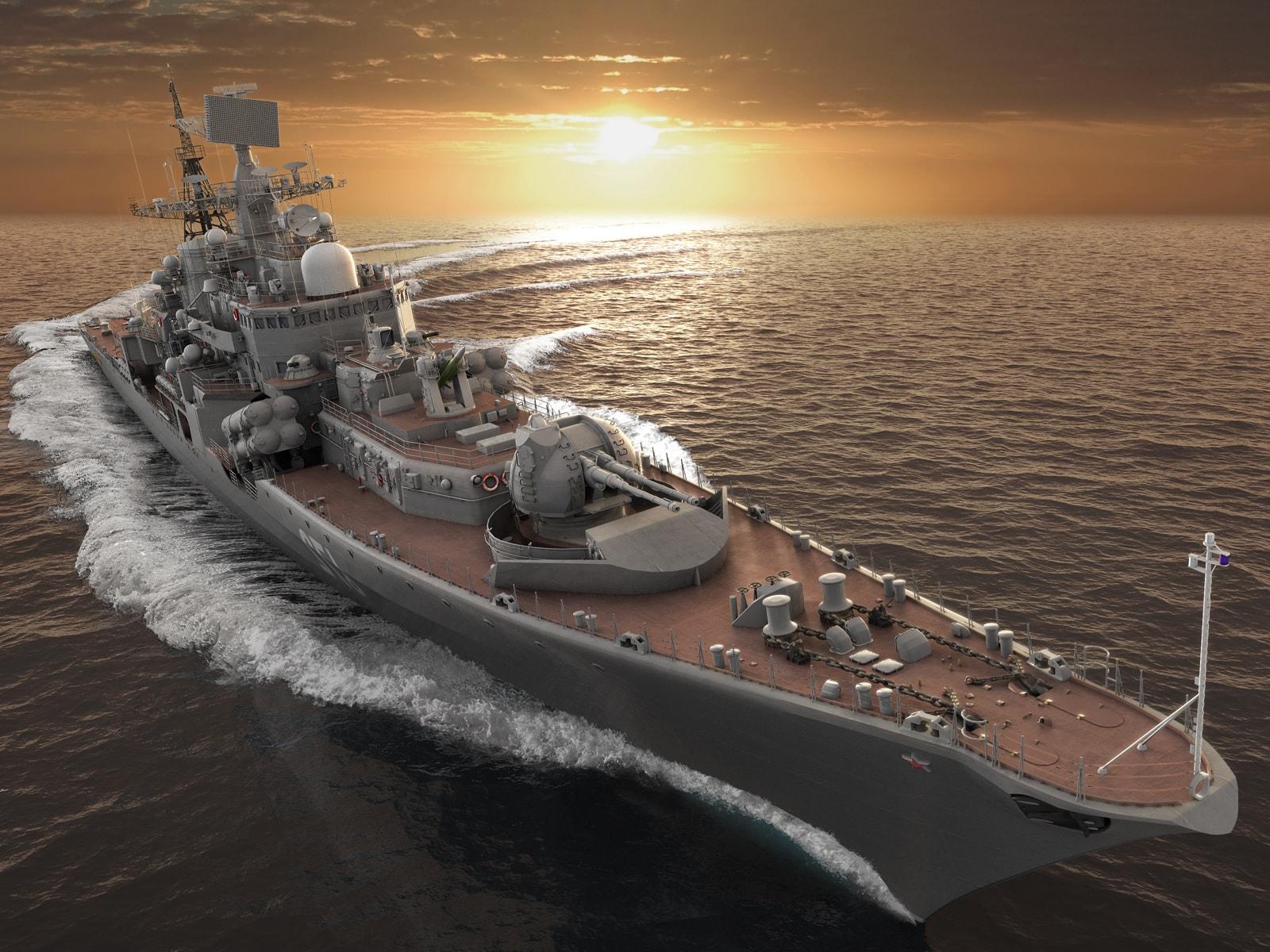Русия иска да постигне паритет на НАТО в световния океан
