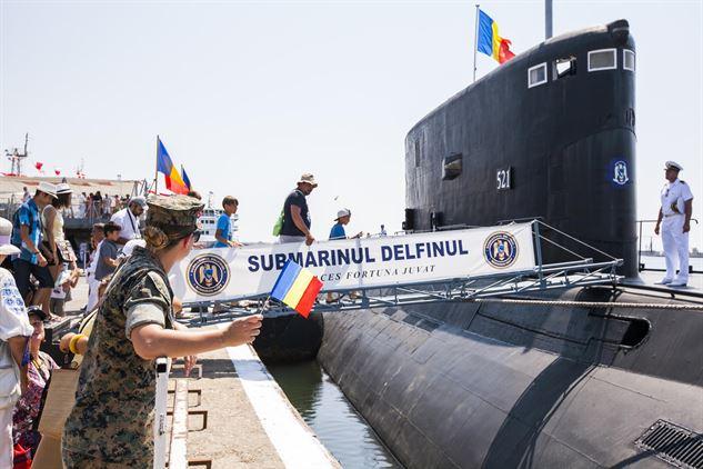 Три нови подводници строи Румъния
